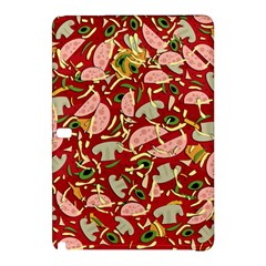 Pizza Pattern Samsung Galaxy Tab Pro 10 1 Hardshell Case by Valentinaart