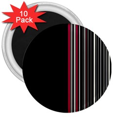 Elegant Style 3  Magnets (10 Pack)