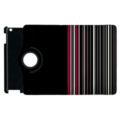 Elegant Style Apple Ipad 3/4 Flip 360 Case by Valentinaart