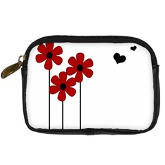 Flowers Digital Camera Cases by Valentinaart