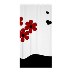 Flowers Shower Curtain 36  X 72  (stall)