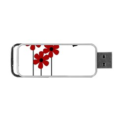 Flowers Portable Usb Flash (two Sides)