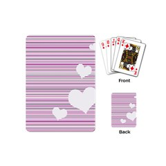 Pink Valentines Day Design Playing Cards (mini)  by Valentinaart