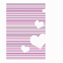 Pink Valentines Day Design Small Garden Flag (two Sides) by Valentinaart