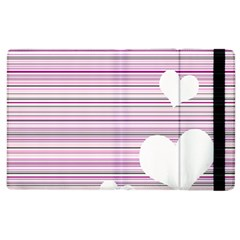 Pink Valentines Day Design Apple Ipad 2 Flip Case by Valentinaart