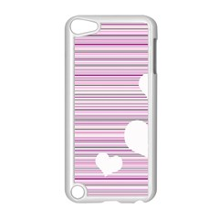 Pink Valentines Day Design Apple Ipod Touch 5 Case (white) by Valentinaart