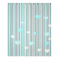 Cyan Love Shower Curtain 60  X 72  (medium)
