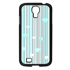 Cyan Love Samsung Galaxy S4 I9500/ I9505 Case (black) by Valentinaart