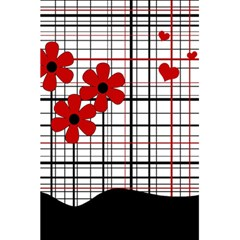 Cute Floral Desing 5 5  X 8 5  Notebooks