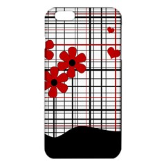 Cute Floral Desing Iphone 6 Plus/6s Plus Tpu Case by Valentinaart