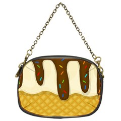 Ice Cream Zoom Chain Purses (one Side)  by Valentinaart