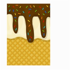 Ice Cream Zoom Large Garden Flag (two Sides)