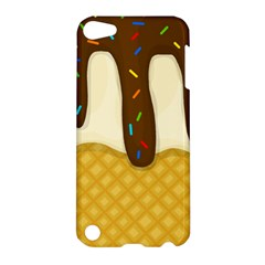 Ice Cream Zoom Apple Ipod Touch 5 Hardshell Case by Valentinaart