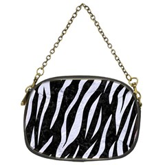Skin3 Black Marble & White Marble Chain Purse (one Side) by trendistuff