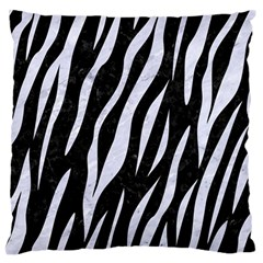 Skin3 Black Marble & White Marble Standard Flano Cushion Case (one Side) by trendistuff