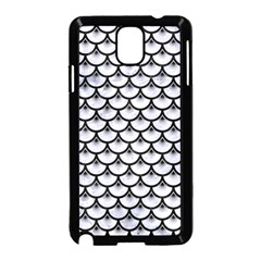 Scales3 Black Marble & White Marble (r) Samsung Galaxy Note 3 Neo Hardshell Case (black) by trendistuff