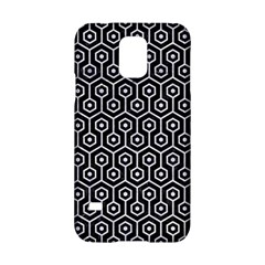 Hexagon1 Black Marble & White Marble Samsung Galaxy S5 Hardshell Case  by trendistuff