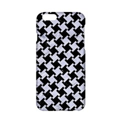 Houndstooth2 Black Marble & White Marble Apple Iphone 6/6s Hardshell Case by trendistuff