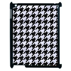 Houndstooth1 Black Marble & White Marble Apple Ipad 2 Case (black) by trendistuff