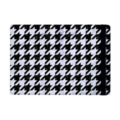 Houndstooth1 Black Marble & White Marble Apple Ipad Mini 2 Flip Case by trendistuff