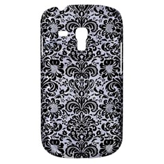 Damask2 Black Marble & White Marble (r) Samsung Galaxy S3 Mini I8190 Hardshell Case by trendistuff