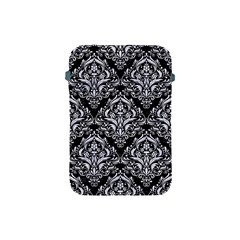 Damask1 Black Marble & White Marble Apple Ipad Mini Protective Soft Case by trendistuff