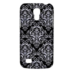 Damask1 Black Marble & White Marble Samsung Galaxy S4 Mini (gt I9190) Hardshell Case  by trendistuff
