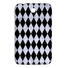 Diamond1 Black Marble & White Marble Samsung Galaxy Tab 3 (7 ) P3200 Hardshell Case  by trendistuff