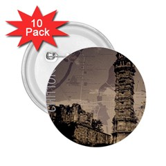 Chittorgarh 2 25  Buttons (10 Pack)