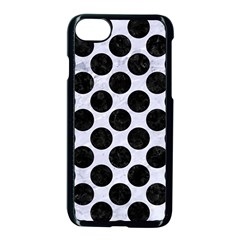 Circles2 Black Marble & White Marble (r) Apple Iphone 7 Seamless Case (black) by trendistuff
