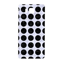 Circles1 Black Marble & White Marble (r) Samsung Galaxy Alpha Hardshell Back Case by trendistuff