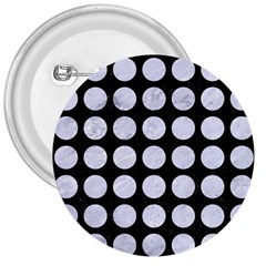Circles1 Black Marble & White Marble 3  Button by trendistuff