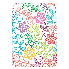 Texture Flowers Floral Seamless Flap Covers (s)  by Jojostore