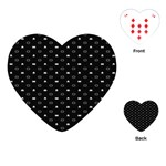 Space Black Playing Cards (Heart)  Front