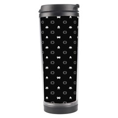 Space Black Travel Tumbler by AnjaniArt
