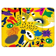 Yellow Eye Animals Cat Samsung Galaxy Tab 7  P1000 Flip Case