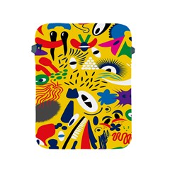 Yellow Eye Animals Cat Apple Ipad 2/3/4 Protective Soft Cases