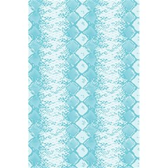 Snake Skin Blue Chevron Wave 5 5  X 8 5  Notebooks