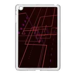 Space Path Line Apple Ipad Mini Case (white)