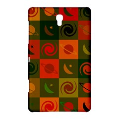 Space Month Saturnus Planet Star Hole Black White Multicolour Orange Samsung Galaxy Tab S (8 4 ) Hardshell Case  by AnjaniArt