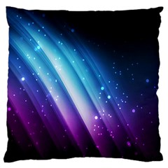 Space Purple Blue Large Cushion Case (one Side)
