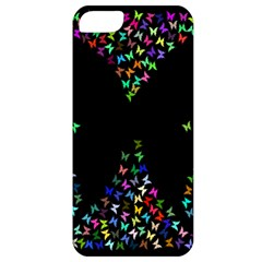 Space Butterflies Apple Iphone 5 Classic Hardshell Case