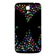 Space Butterflies Samsung Galaxy Mega I9200 Hardshell Back Case