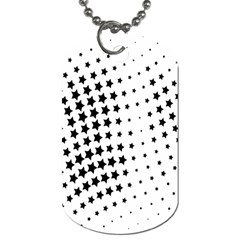 Star Dog Tag (one Side)