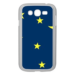 Star Moon Blue Sky Samsung Galaxy Grand Duos I9082 Case (white)