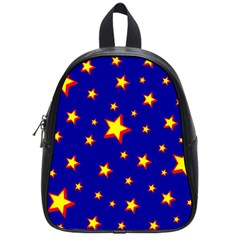 Star Blue Sky Yellow School Bags (small)