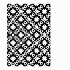 Star Flower Small Garden Flag (two Sides)