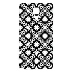 Star Flower Galaxy Note 4 Back Case by AnjaniArt