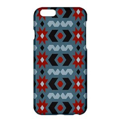 Star Wave Chevron Grey Gray Apple Iphone 6 Plus/6s Plus Hardshell Case