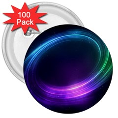 Spaces Ring 3  Buttons (100 Pack)